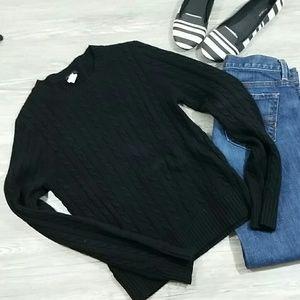J.Crew black sweater